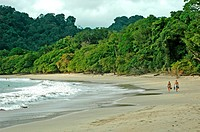 Costa Rica, Manuel Antonio National Park, beach (thumbnail)