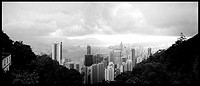 Hong Kong from distant hills