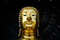 Thailand, Bangkok, Wat Traimit, World's largest golden Buddha