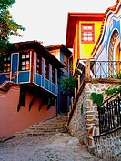 The old city Plovdiv. Bulgaria