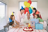 Family birthday party