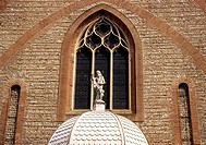 Cathedral, St, Jean, Perpignan, Languedoc-Roussillon, France,