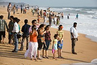 Calangute beach. Goa. India