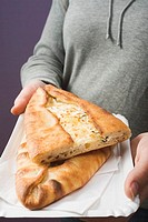 B&#246;rek filled with sheep's cheese