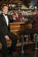 Men at bar