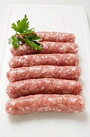 Salsicciole skinless sausages, Italy