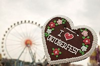 Lebkuchen heart at Oktoberfest