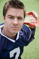 Serious lacrosse player