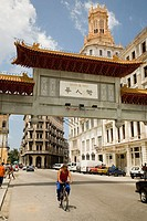 Chinatown entrance. Havana. Cuba