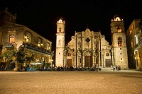 San Cristobal Cathedral. Havana, Cuba
