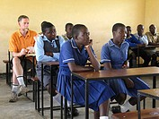 Brian Nichols is a Canadian volunteer psychotherapist at the Howard Hospital in Zimbabwe.  He makes frequent visits to nearby Nyachuru High School AID...