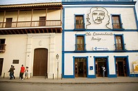 Town centre. Post office. Camag&#252;ey. Cuba