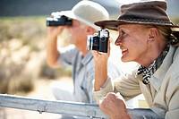 Couple on Safari