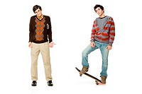 Geek and skater (thumbnail)
