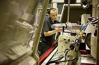 Grinding machines. Talleres MYL. Spindle manufacturing and repairing. Mendaro. Gipuzkoa, Euskadi, Spain