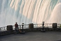 Horseshoe Falls at Table Rock - Niagara Falls - Ontario Canada