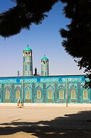 Afghanistan, Mazar-I-Sharif, Shrine of Hazrat Ali