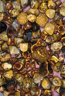 Gallstones collected from several female patients who were operated on during a volunteer surgical mission to Bolivia Gallstones are concretions in th...