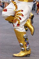 Oruro Carnival Dancer