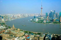 Cityscape of Pudong from Puxi