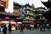 Old Street, Yu Yuan, Shanghai
