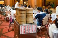 Chinese dim sum restaurant, Hong Kong