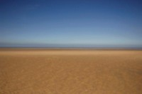 England, North Norfolk, Holkham Beach, defocused