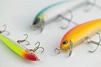 Trolling line fishing hooks