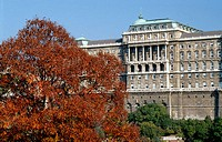 Buda Castle in Autumn, Budapest, Hungary