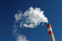chimney of a powerstation