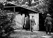 SG hist , Ereignisse, 2 Weltkrieg, Frankreich 1940, Waffenstillstand von Compiegne 21 6 1940, französische Delegation mit General Charles Huntziger, W...