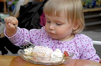 Girl eating icecream (thumbnail)