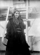 Katherine Stinson 1891-1977, US aviator, in Tokyo, Japan  Stinson qualified as a pilot in 1912, the fourth woman in the USA to do so  On 18 July 1915,...
