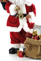 Santa Claus Figurine with presents (thumbnail)