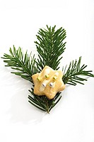 Shortcrust biscuit, star-shaped