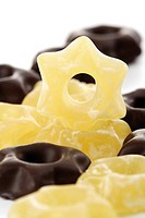 Pineapple jelly stars