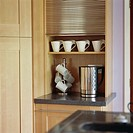 Kitchen Cabinet with Roll-up Door