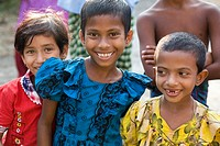 Bangladeshi children  Photographed in Bangladesh, in 2006