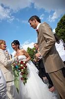 congratulations at wedding