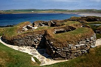 Skara Brae, 5000 year old village near Stromness, Main Island, Orkney Islands, Scotland