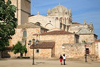 Spain, Castilla Leon, Zamora, Cathedral
