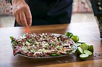 Asian summer carpaccio
