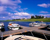 River Cruising, River Shannon, Near Clonmacnoise Co Offaly