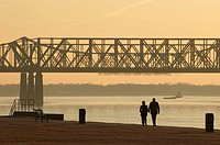 Missisipi river, Memphis, Tennessee, USA
