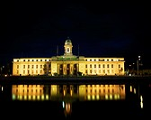 Cork City, City Hall At Night,