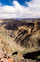 Fish River Canyon. South Namibia