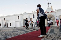 15th of august, Preparation of the procession Tinos, Cyclades, Greece