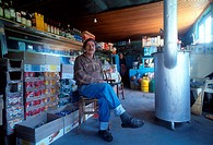 Antonis Chatzinikolaou  Grocery  Livaditis village  Nestos river, Xanthi, Thrace, Greece
