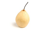 Nashi, Asian, or Sand Pear on white background
