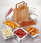 Chinese Food Takeaway Selection